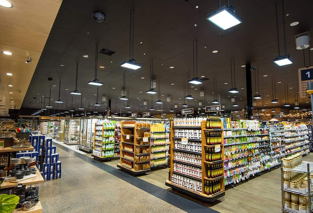 Foodland Pasadena Commercial LED Electrical Light Installation Adelaide